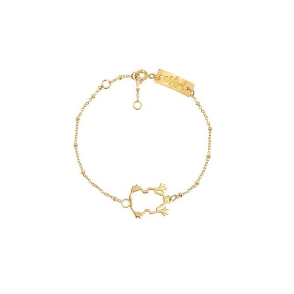 Money Frog bracelet - Anka Krystyniak