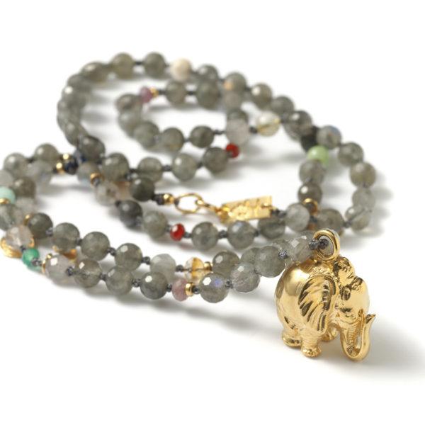 Elephant necklace - Anka Krystyniak
