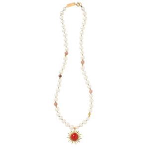 SMALL SUN necklace - Anka Krystyniak