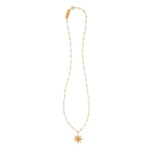 Anka Krystyniak - LITTLE ISHTAR WITH ZIRCONIA necklace
