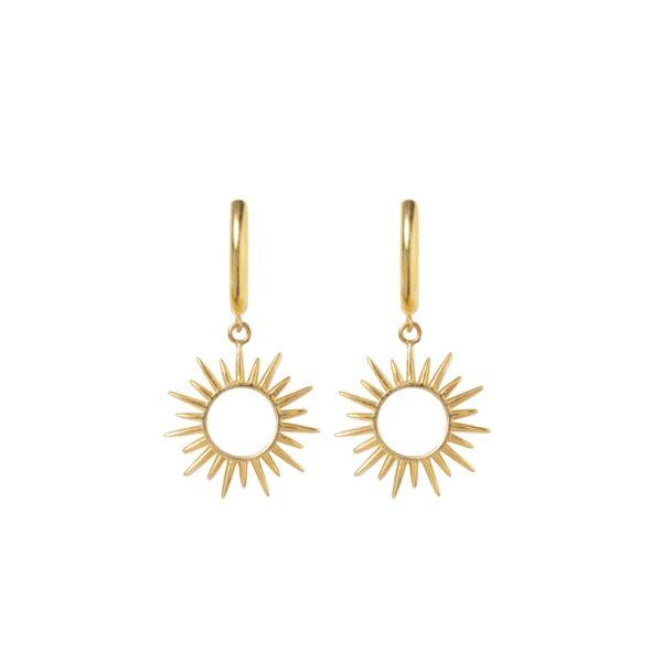 SUNS earrings - Anka Krystyniak