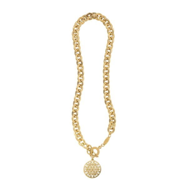 FLOWER OF LIFE necklace - Anka Krystyniak